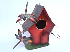 Balinese Wholesale Bird House Garden Decor and Ornaments