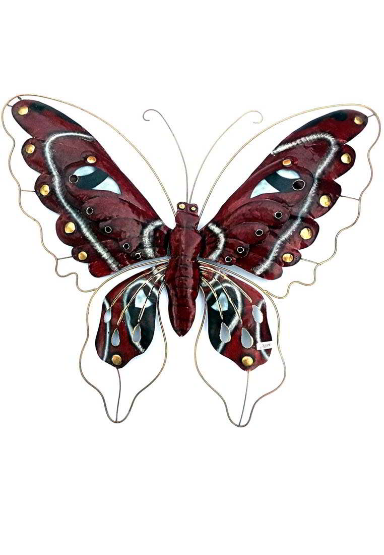 painted tin Butterfly Wall Decor