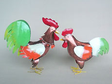 Balinese Wholesale Chicken Garden Decor and Ornaments