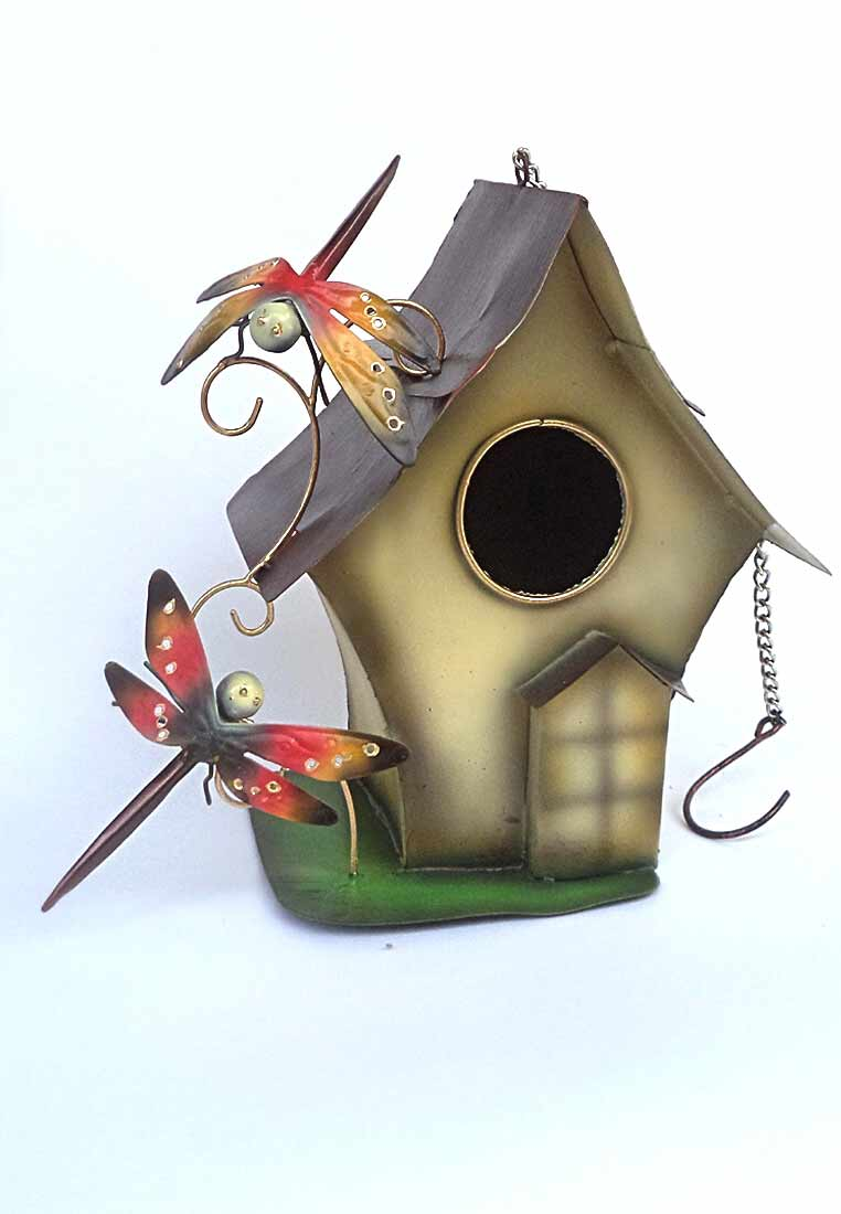 Bird House Garden Decor