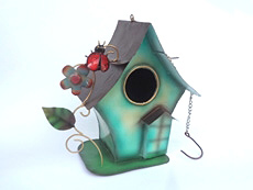 Balinese Wholesale Bird House Garden Decor and OrnamentsWholesale Bali Metal Crafts New Dog Mosquito Coil Holder